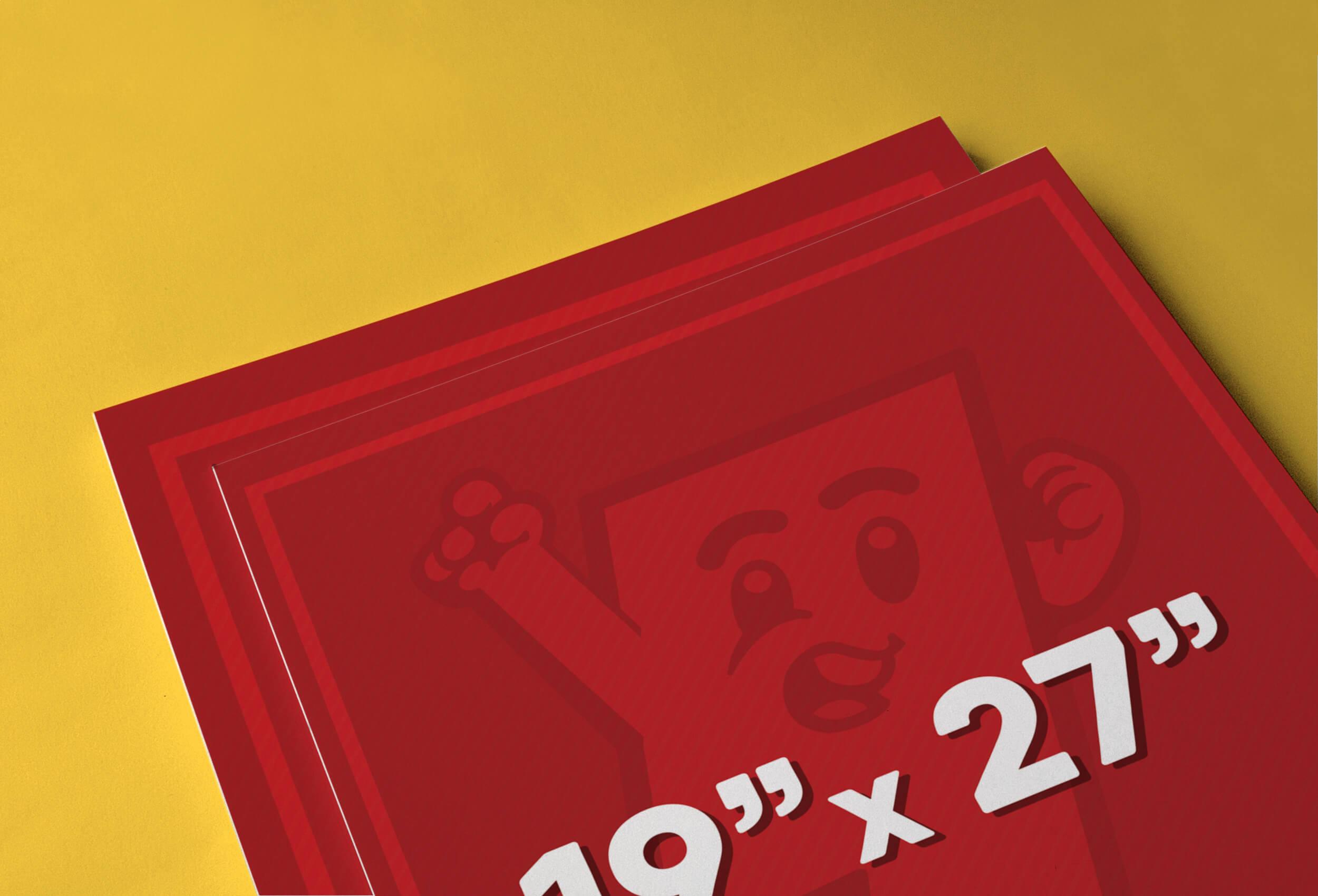 19″ x 27″ Poster Printing