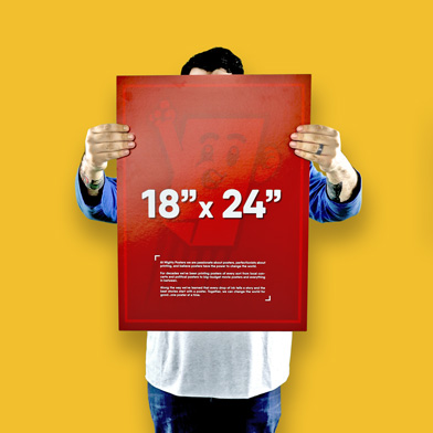 """18"""" x 24"""" Poster Size"""