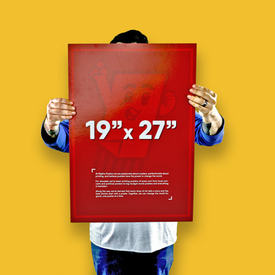 """19"""" x 27"""" Poster Size"""