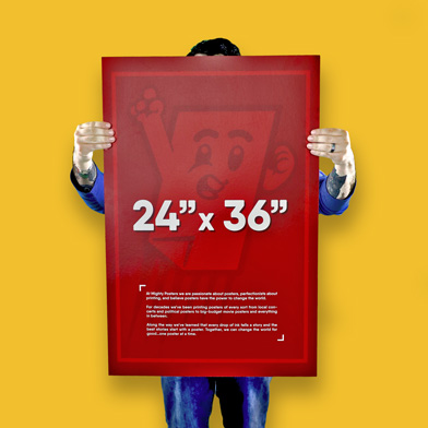 """24"""" x 36"""" Poster Size"""