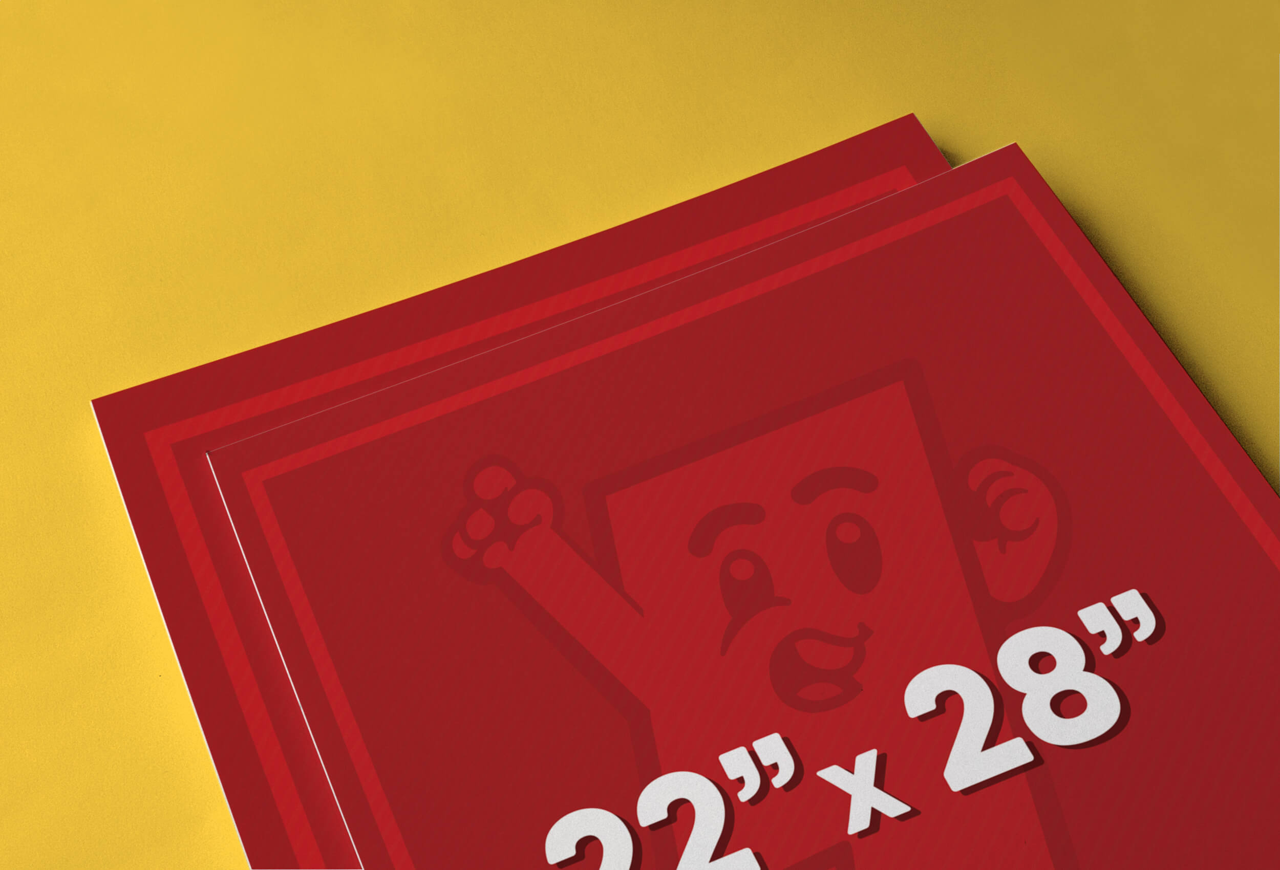 22″ x 28″ Poster Printing