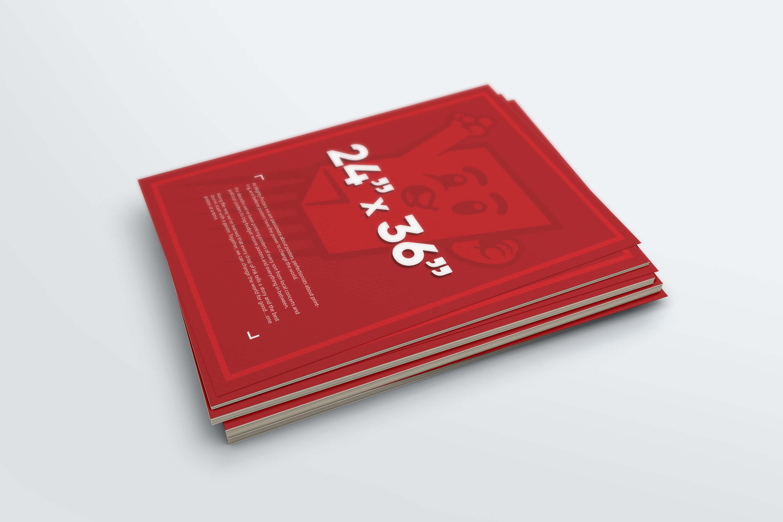 24″ x 36″ Poster Printing