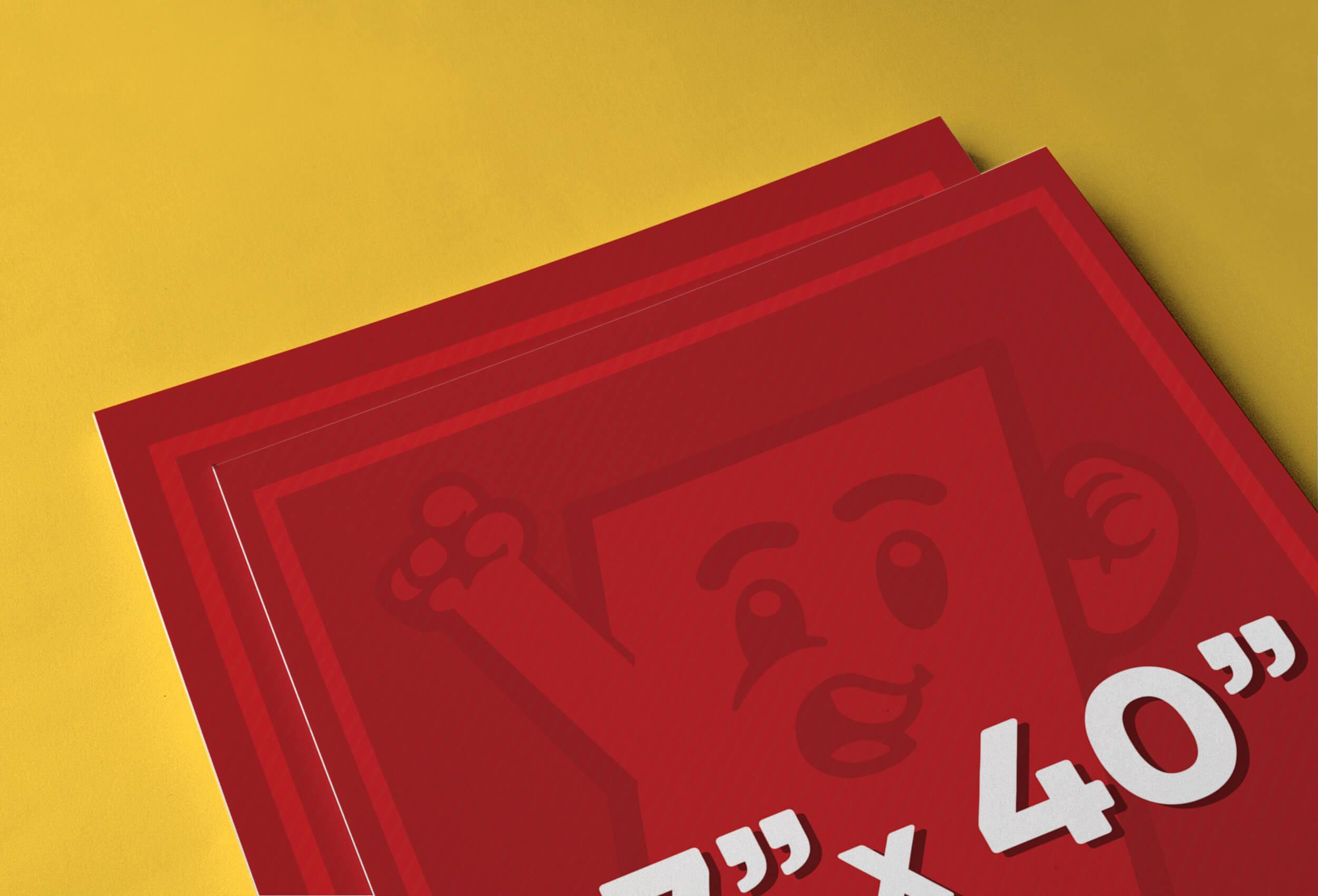 27″ x 40″ Poster Printing