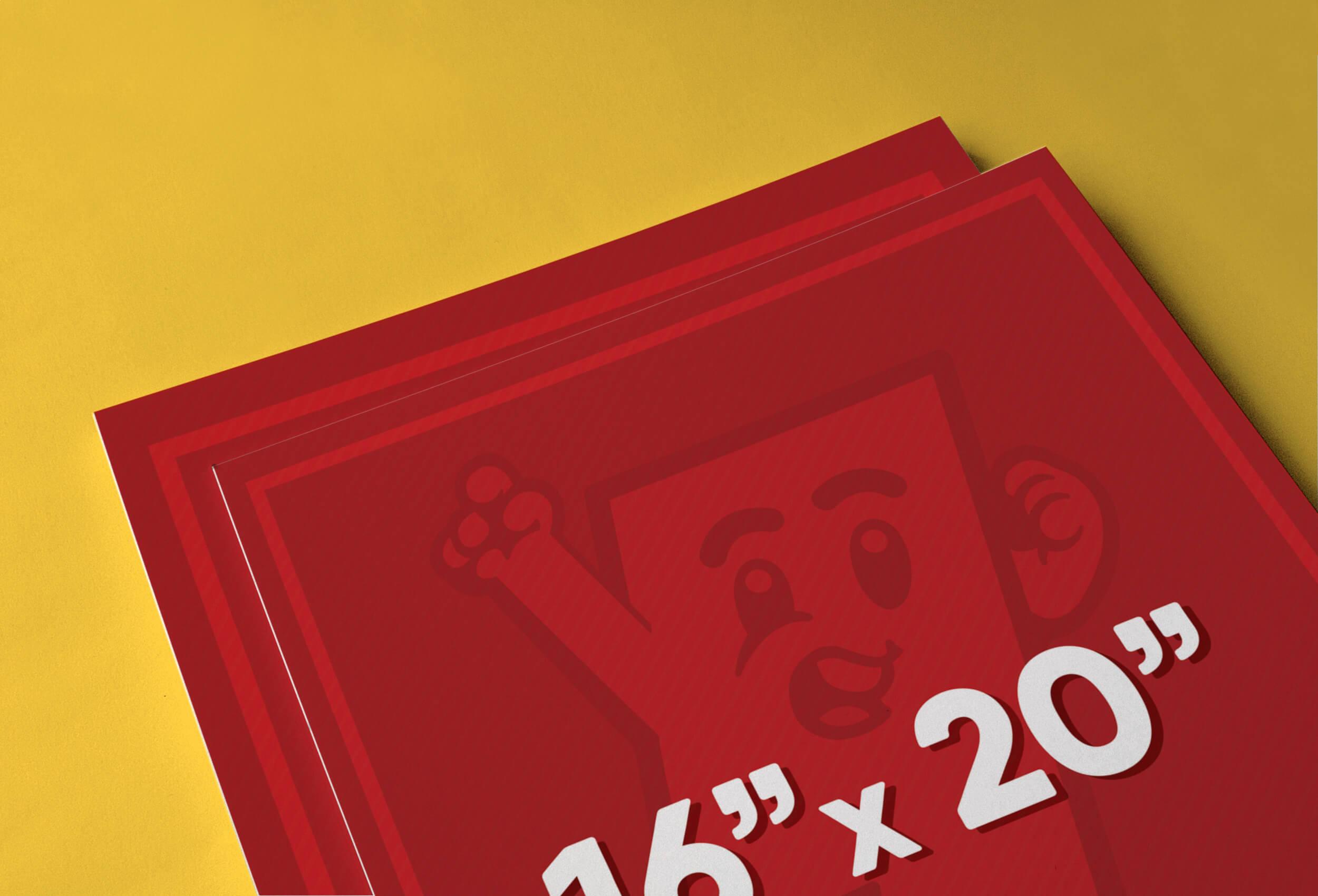16″ x 20″ Poster Printing
